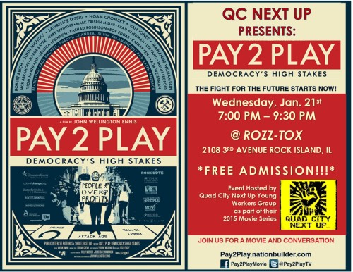 Join us for a QC Next Up Movie NIGHT at ROZZ-TOX