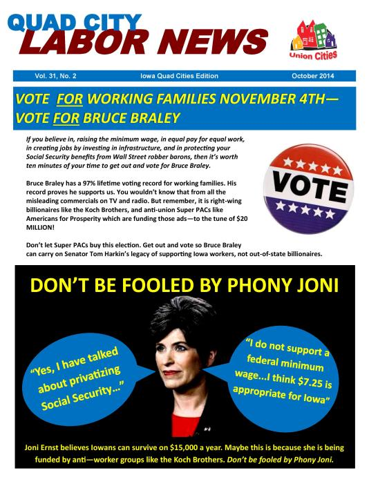 Working Families Don't Want Phony Joni