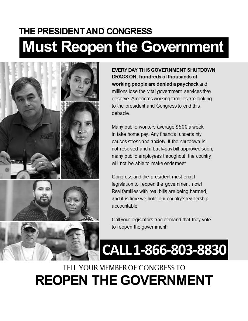 shutdown hotline flyer 2019