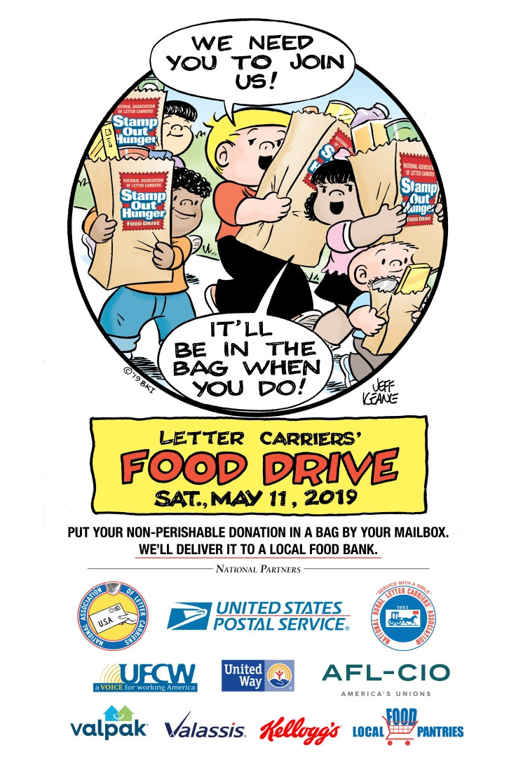 2019-Cartoon-w-partners-NALC food drive
