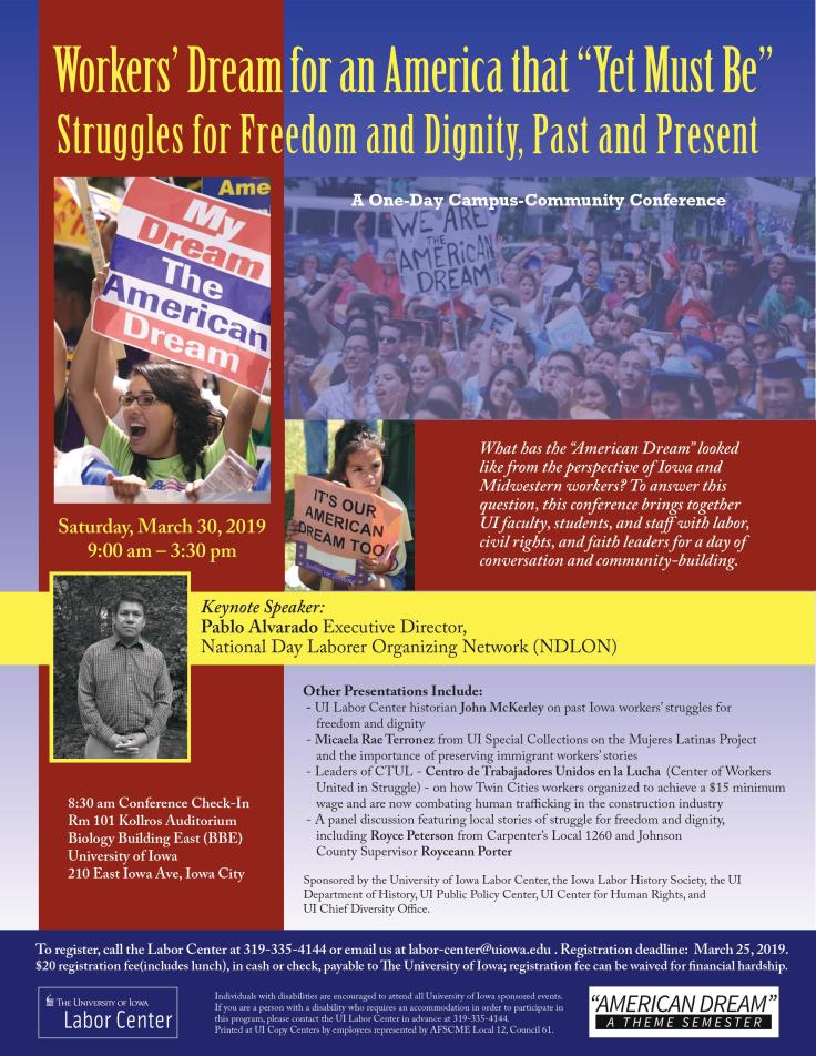 American Dream 2019 conf - labor ctr