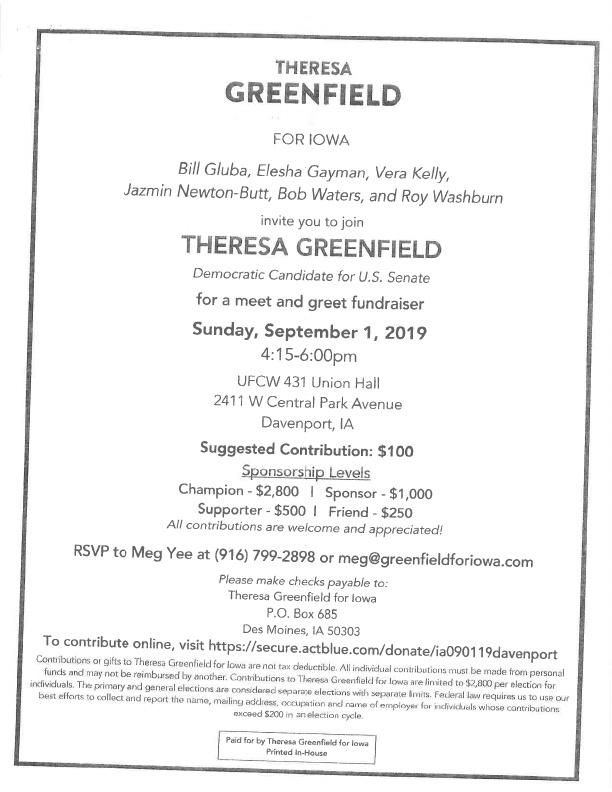 Greenfield Invite 2019